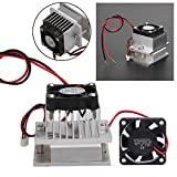 DIY Cooler Kits Thermoelectric Peltier Refrigeration Cooling System+Fan+TEC1-12706 BESTVECH