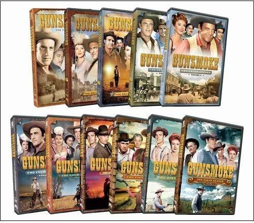 Gunsmoke: Seasons 6 - 10 Pack (Ten Wanted Men Wanted Dead Or Alive)