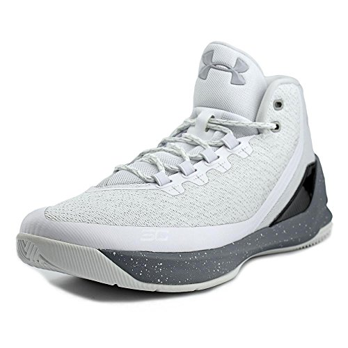 Curry 3 Mens in White (Raw Sugar) by Under Armour, 12