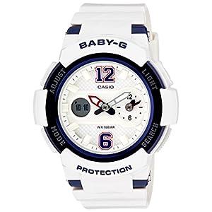 51qVuINcCOL. SS300  - Casio Women's Baby-G BGA210-7B2 White Resin Quartz Watch