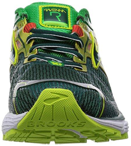 Brooks Mens Ravenna 6 Giugno Bug / Felce Verde / Lime Punch