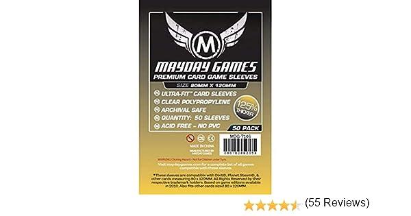 50 Mayday 80 x 120 Dixit Premium Card Sleeves Board Game: Amazon.es: Juguetes y juegos