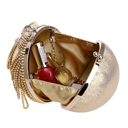Evening Tassel Handbag Gold European Dress And American Luxury evening Evening Banquet Bag Fly Black Color bag wZznIqUXX