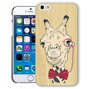 DAOJIE Generic Iphone case, iphone 6 case, iphone6 case,iphone 6 case,iphone 4.7 case, plastic cases back cover skin protector,camel eyeglasses bowtie