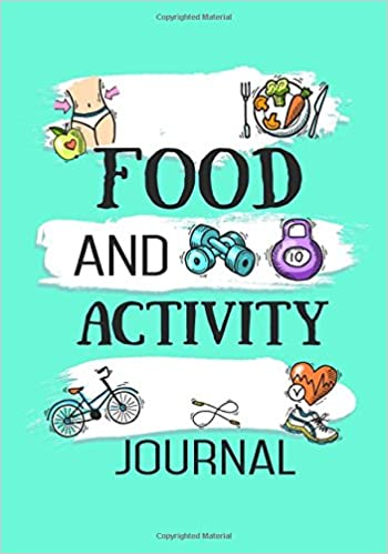 food and activity journal 90 days food exercise journal weight