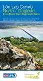 Lon Las Cymru North: The official route map for the Lon LAs Cymru in mid and North Wales