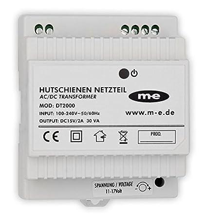 m-e DT-2000 Hutschienennetzteil