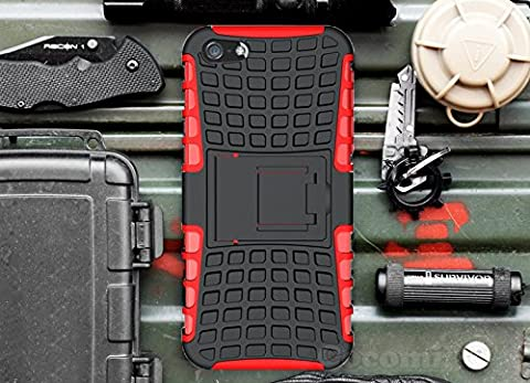 iPhone 4S / 4 Case, Cocomii Grenade Armor NEW [Heavy Duty] Premium Tactical Grip Kickstand Shockproof Hard Bumper Shell [Military Defender] Full Body Dual Layer Rugged Cover Apple (Iphone 4 Stowaway Case)