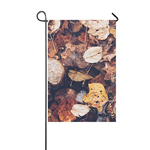 YUMOING Home Decorative Outdoor Double Sided Leaves Green Pl