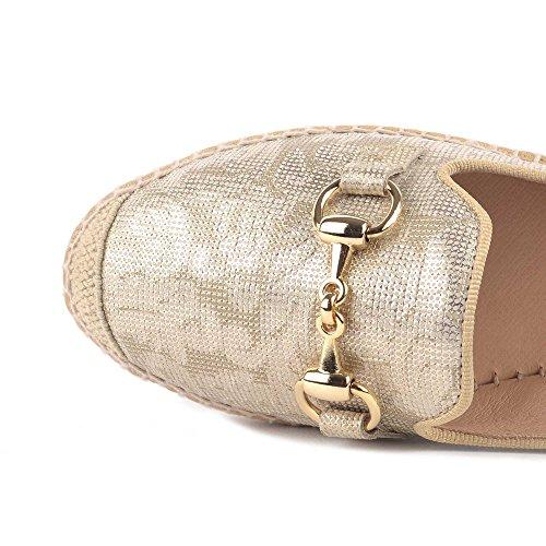 Alpargatas Kanna Oro Zapatillas Dora Zapatos Mujer wx8aH