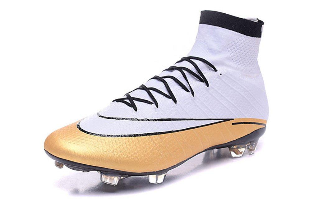 Herren Mercurial superfly CR FG weiß Hi Top Fußball Schuhe Fußball Stiefel