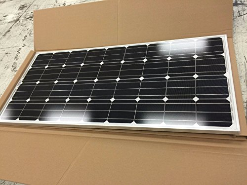 165 Watt Solar Panel for Charging 12 Volt Battery, High Efficiency, Made in USA! by Magic Tech