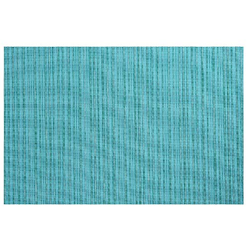 (SMILINGGIRL Place Mats, Simple Table Place Mats And Coasters Sets of 4 - Premium Heat Resistant Non-Slip Anti-Scalding Insulation Placemat Washable Tableware Square Dining Table Mats,Blue)