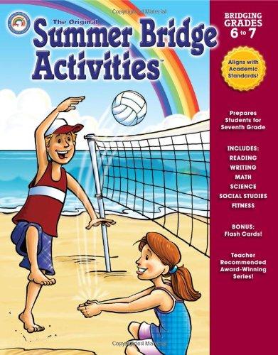 Summer Bridge Activities: Bridging Grades 6 to 7 pdf epub