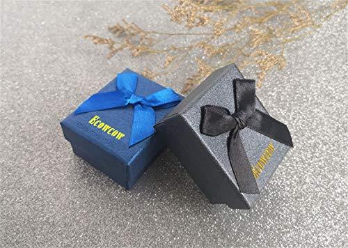 ecowcow Custom Classic Jewelry Tuxedo Shirt Sliver Cufflinks Men's Unique Business Wedding Gifts