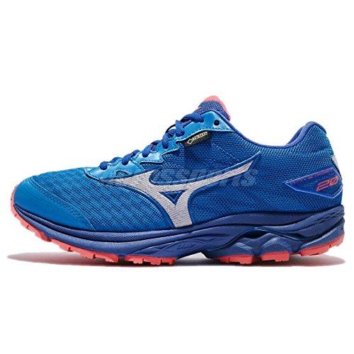 Mizuno Wave Rider 20GTX blu scarpe da running Donna Impermeabile