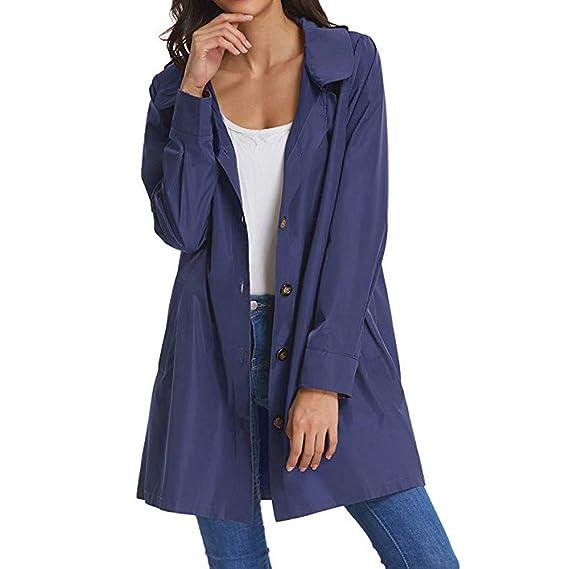 Abrigos De Mujer De Marca, Abrigos De Mujer Morgan, Chaquetas De Mujer De Marca, Abrigos De Mujer, Azul, XL: Amazon.es: Ropa y accesorios