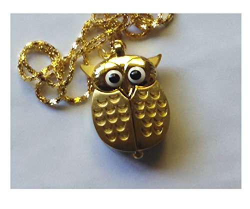 Watch Owl Chain Pendent