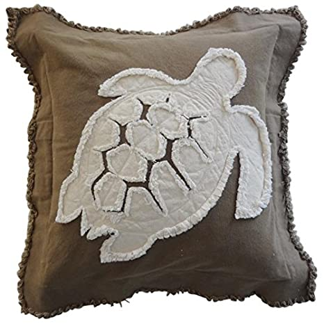 Amazon.com: Playa almohada Tortugas de mar mar, Pillow ...