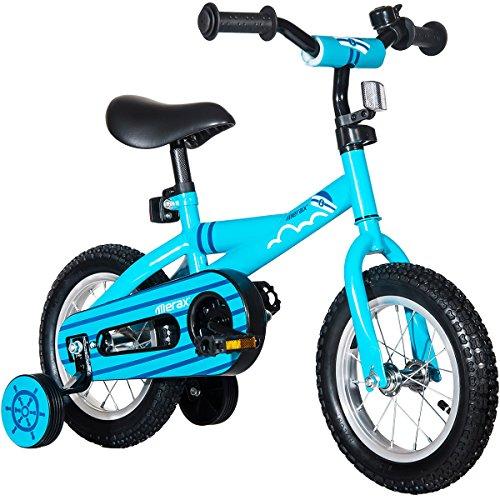 Mearx Children's Bike with Training Wheels 12 Inch