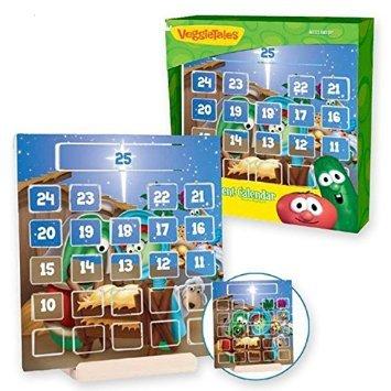 Veggie Tales Wood Advent Calendar Display Set (00538) by VeggieTales (Image #2)