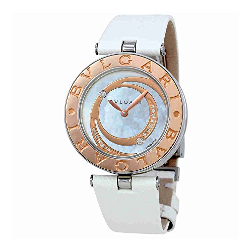 Bvlgari B.Zero1 Mother of Pearl Diamond Dial Ladies Watch 102021
