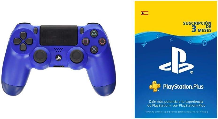 Sony - Dualshock 4 V2 Mando Inalámbrico, Color Azul (Wave Blue ...