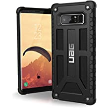 UAG Samsung Note 8 Monarch Feather-Light Rugged [BLACK] Military Drop Tested Phone Case
