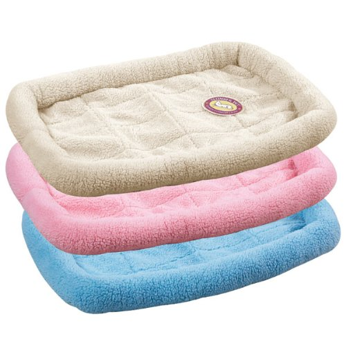 Amazon.com : Slumber Pet Sherpa Crate Beds - Comfortable Bumper-Style Beds for Dogs and Cats, X-Large, Baby Pink : Xlarge Pink Dog Bed : Pet Supplies