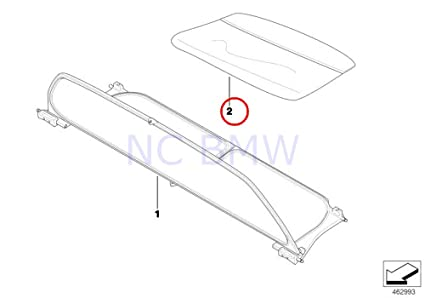 Amazon Com Bmw Genuine Wind Deflector Pocket Automotive