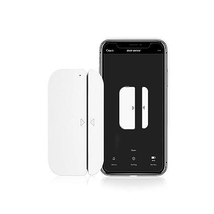 Aicliv Wi-Fi Door Window Sensor, Smart Contact Sensor Magnet