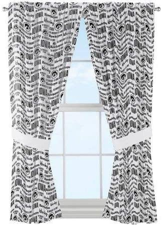 The Northwest Company NCAA Iowa Hawkeyes Anthem Window Curtain Panels Set of 2-36 x 48