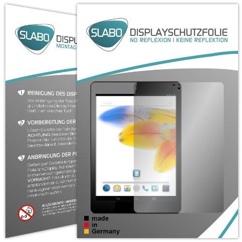 2 x Slabo Displayschutzfolie Odys Connect 8+ Displayschutz Schutzfolie Folie