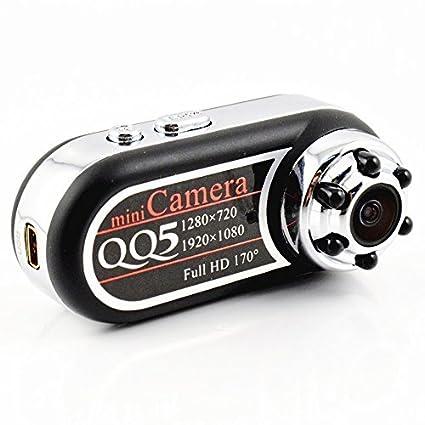 Mengshen 720P 1080P cámara de vídeo HD Mini espía ocultos cámara pulgar 170 grados IR Night