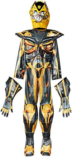 Hasbro Transformers Age of Extinction Movie Bumblebee Prestige Boys Costume, Small/4-6