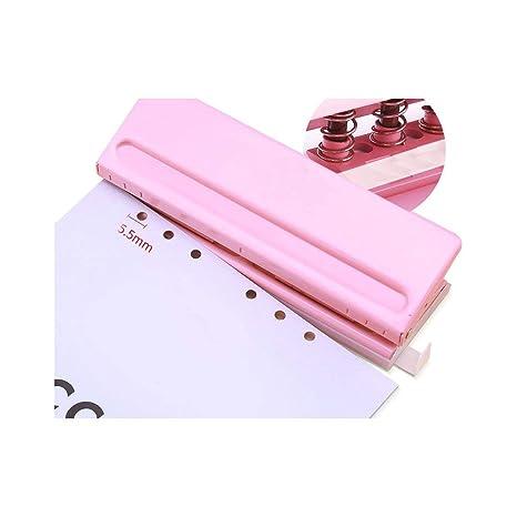 Amazon.com: Punzador de papel de 6 agujeros para A3/A4/A5/A6 ...