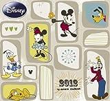 2012 Disney Mickey Classic Retro Art Wall Calendar