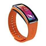 Samsung Galaxy Gear Fit Replacement Plastic Band - Retail Packaging - Orange