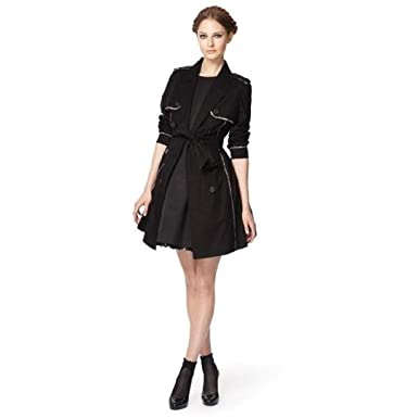 e30d005be9b Jason Wu for Target Large Trench Coat in Black at Amazon Women s ...