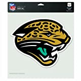 NFL Jacksonville Jaguars 8-by-8 Inch Diecut Colored Decal