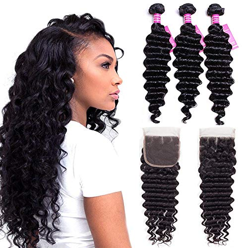 VRVOGUE Brazilian Deep Wave 3 Bundles (18