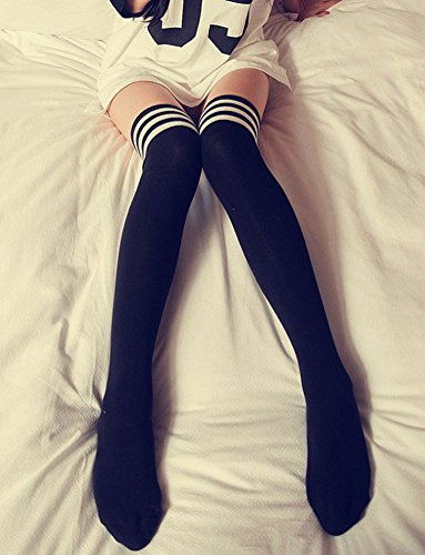 Women's Over the Knee High Socks 3 Pairs Anime Cosplay Cosplay Props