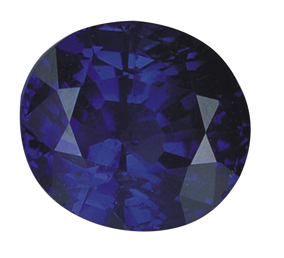 Tejvij And Sons 4.50 Carat Natural Blue Sapphire neelam Gemstone Certified by Tejvij And Sons