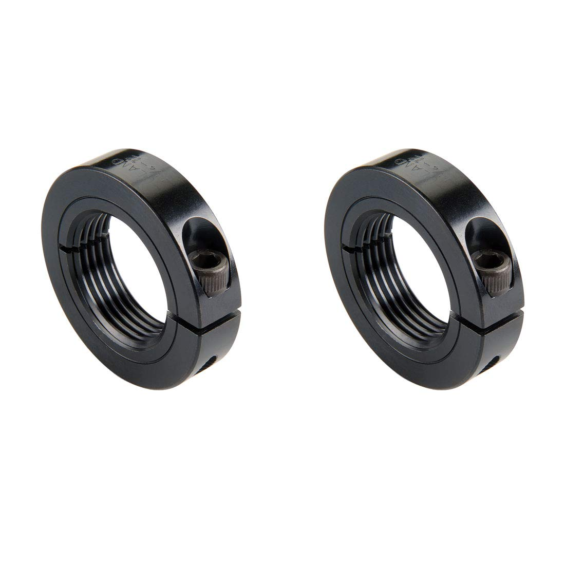 Pack of 2 Black Oxide Steel.875-14 Bore Ruland TCL-14-14-F One-Piece Clamping Shaft Collar 1//2 Width 1 5//8 OD Threaded