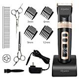 Best Dog Clippers Cordlesses - Alyattes Dog Clippers Shaver Professional Dog Grooming Kit Review