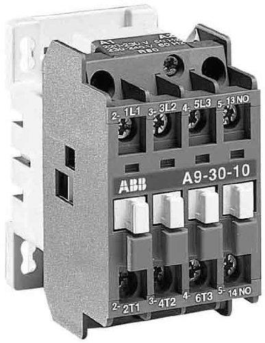 ABB Stotz S/&J Sch/ütz A9-30-10 230V50//60HZ 1S 220-230VAC//DC Leistungssch/ütz zum Schalten von Wechselstrom 3471522031808