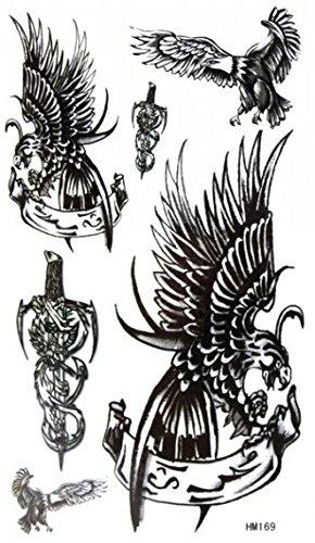 grashine resistente al agua y sudor de la negro águila con espada ...