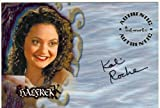 Buffy TVS Season 6 Autograph Card A29 Kali Rocha As Halfrek