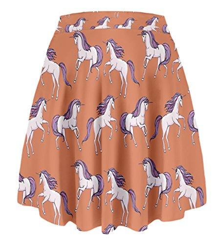 CowCow - Falda - para mujer naranja