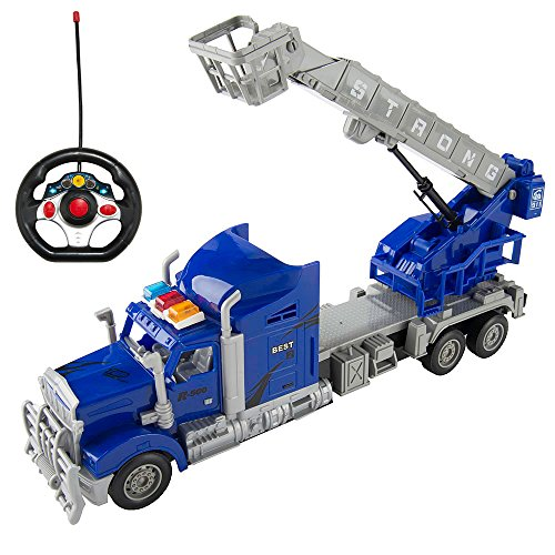 blue fire truck - 2